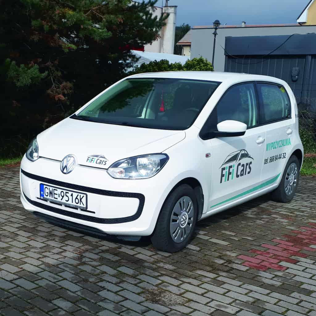 VW UP! 1.0 - Wypożyczalnia Reda, dowóz do Gdańska, Gdyni, Sopotu