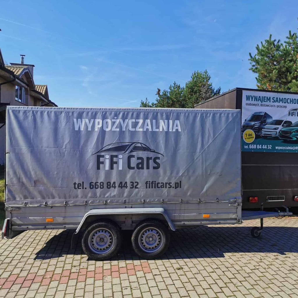 Przyczepa towarowa - wypożyczalnia przyczep FiFiCars - Reda i Gdańsk