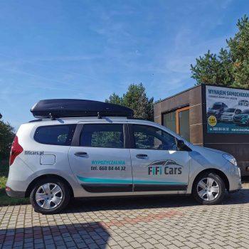 Dacia Lodgy - wypożyczalnia samochodów i przyczep FiFiCars - Reda i Gdańsk