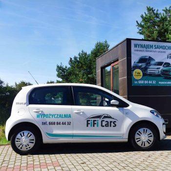 VolksWagen UP!- wypożyczalnia samochodów i przyczep FiFiCars - Reda i Gdańsk